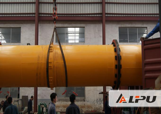 1×10 Energy efficiency Industrial Drum Drying Equipment For Coal / Rotary Drum Dryer