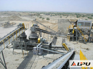 চীন Efficient Basalt Stone Jaw Crushing Plant , Quarry Crushing Equipment পরিবেশক