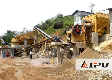 চীন Customized Rock Crushing Equipment , Complete Stone Crushing And Screening Plant কারখানা