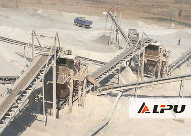 চীন Automatic 30-500TPH Jaw Crusher Machine For Marble River Gravel কারখানা