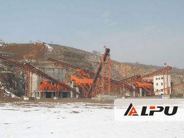 চীন Energy Saving Quartz Stone Crushing Plant / Jaw Crusher Machine কারখানা