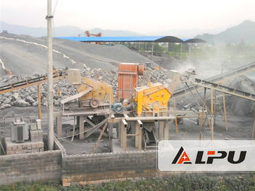 চীন River Stone Crusher Machine , Cobble / Limestone Aggregate Crushing Plant 450t/h কারখানা