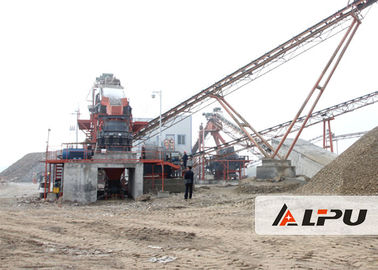 চীন Stationary Stone Crushing Plant for Ore Crushing / Screening কারখানা