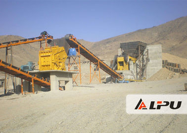 চীন High Crushing Ratio Stone Crushing Plant , Stone Jaw Crusher Machine 200t/h পরিবেশক